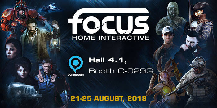 Gamescom 2018 - Focus Home Interactive