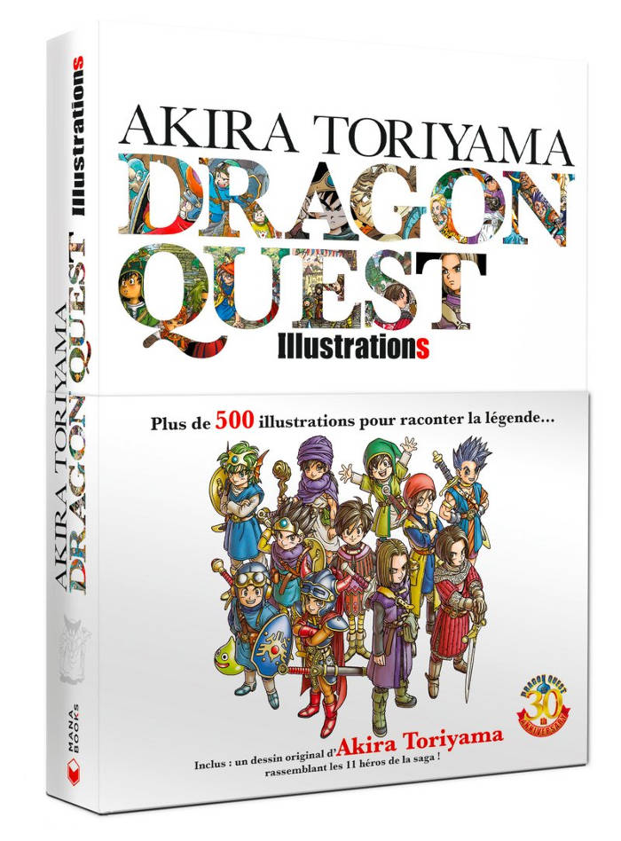 Artbook : Akira Toriyama Dragon Quest Illustrations