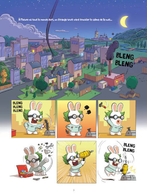 The Lapins Crétins, Tome 11 : Wanted (page 3)