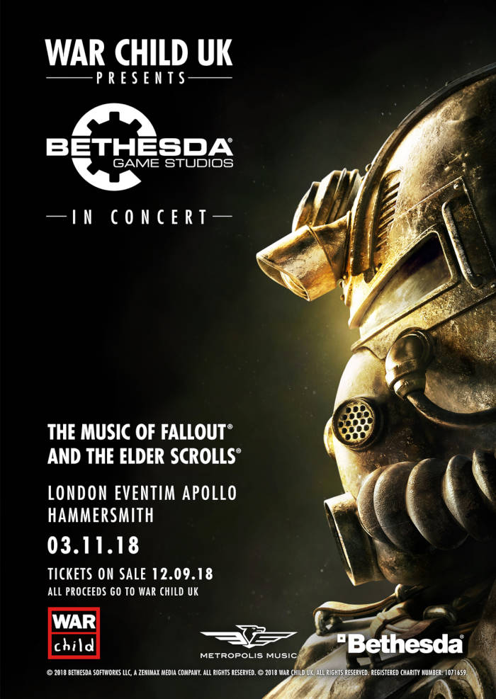 War Child UK présente : Bethesda Game Studios en concert