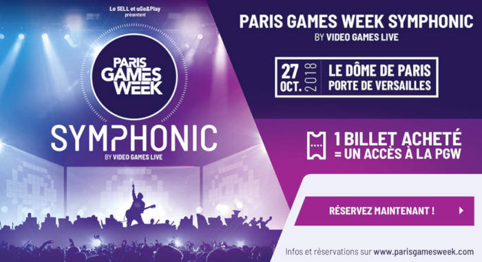 Paris Games Week Symphonic by Video Games Live