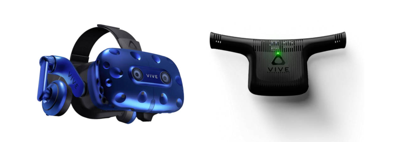 HTC Vive Pro + adaptateur Vive Wireless