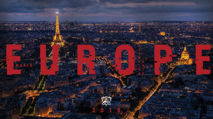 Paris accueillera la finale du championnat du monde 2019 de League of Legends