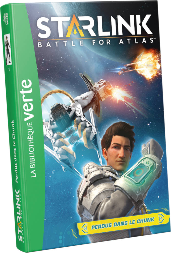 Ubisoft en Bibliothèque Verte avec Starlink Battle for Atlas