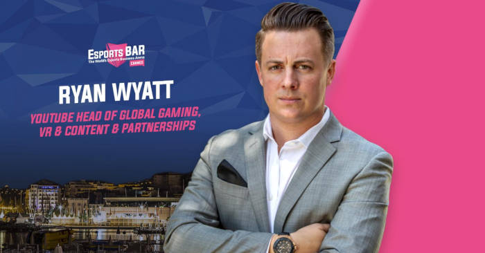 Esports Bar Cannes annonce le keynote de Ryan Wyatt de Youtube