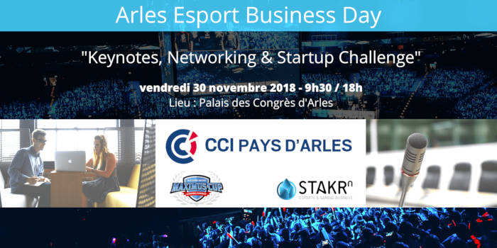 L'événement Arles Esports Business Day se tiendra le 30 nov.
