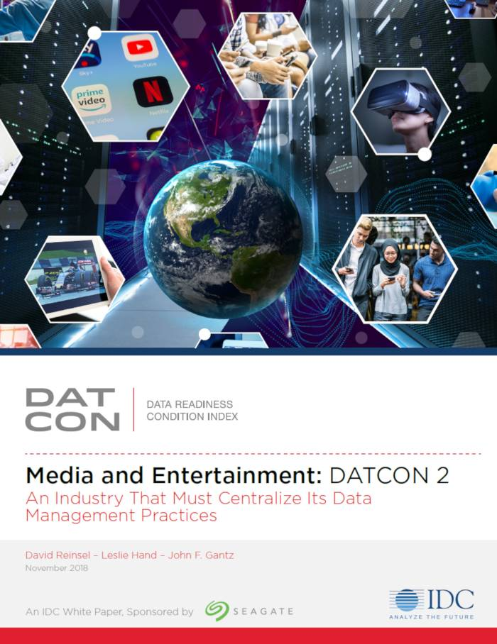 IDC Seagate Datcon Media and Entairtainment