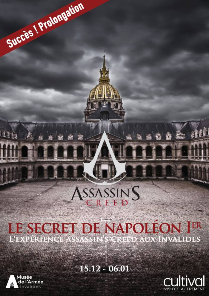 Le secret de Napoléon Ier : Assassin's Creed aux Invalides
