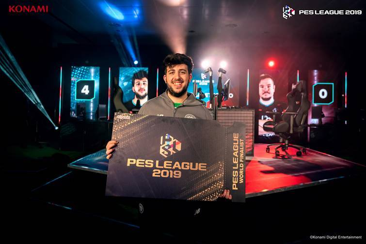 Suprema_Ettorito remporte la PES League Europe 2019