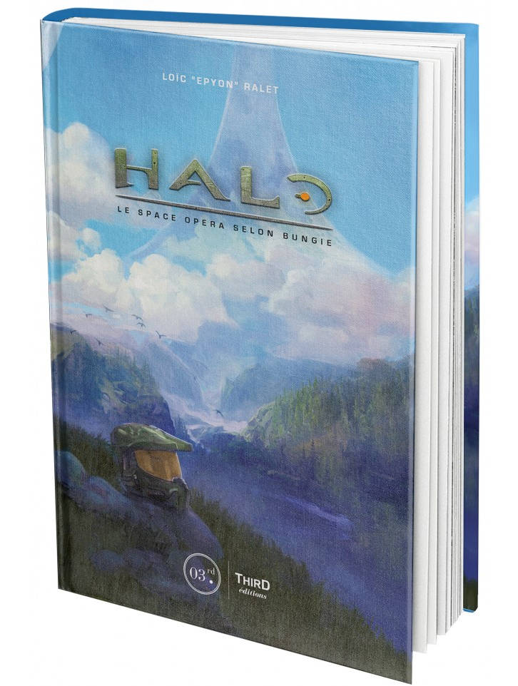 Halo. Le space opera selon Bungie chez Third Editions