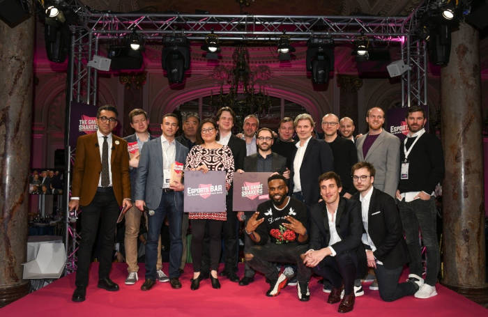Les gagnants des Esports BAR Game Shakers Awards 2018