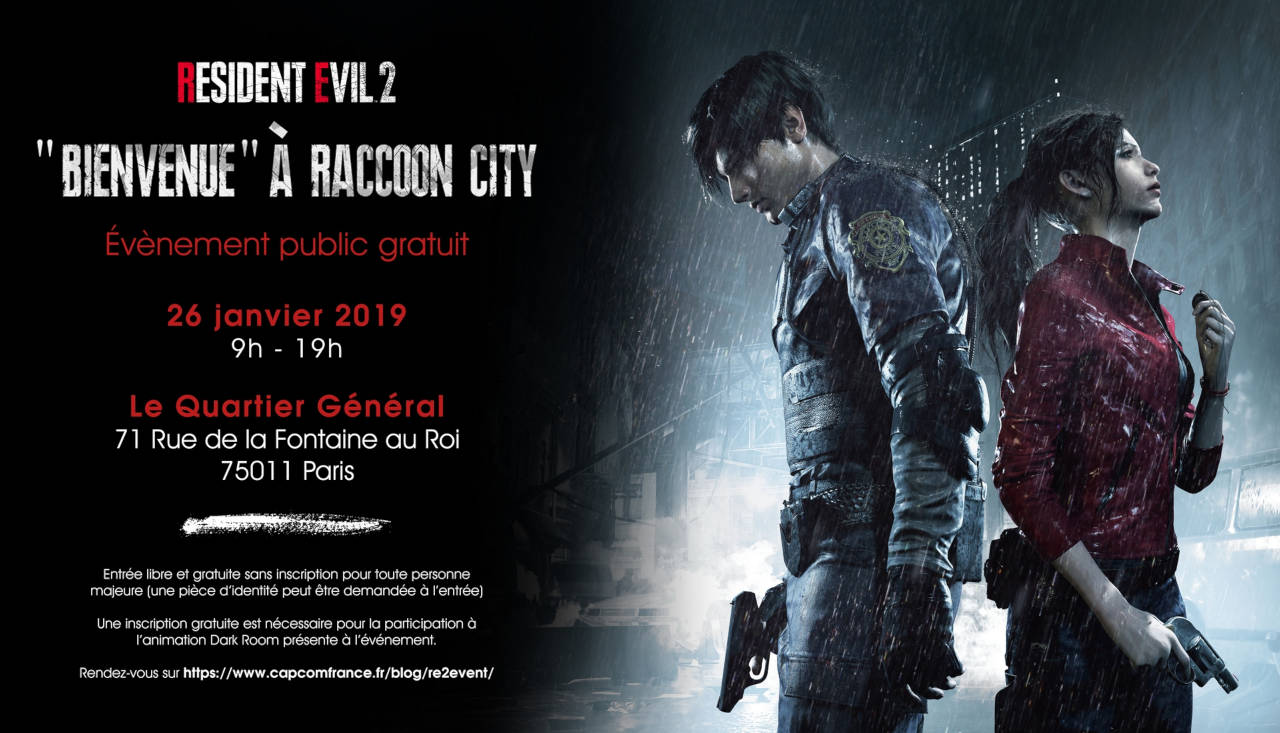 """bienvenue"" à Racoon City"