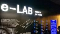Visite de l'e-Lab, l'espace jeu vidéo de la Cité des sciences