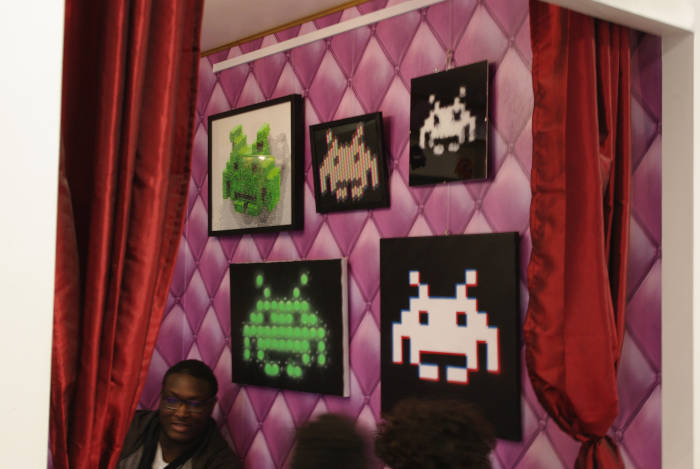 Juice Lizard - Exposition Space Invaders