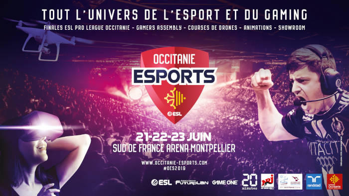 Seconde édition de l'Occitanie Esports du 21 au 23 juin
