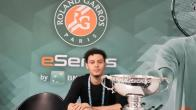 "Marvin ""RvP"" Nonone remporte les Roland-Garros eSeries"