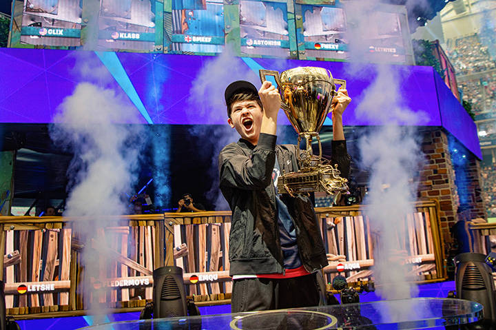 Bugha : Gagnant des Solos Fortnite World Cup : 3 000 000$