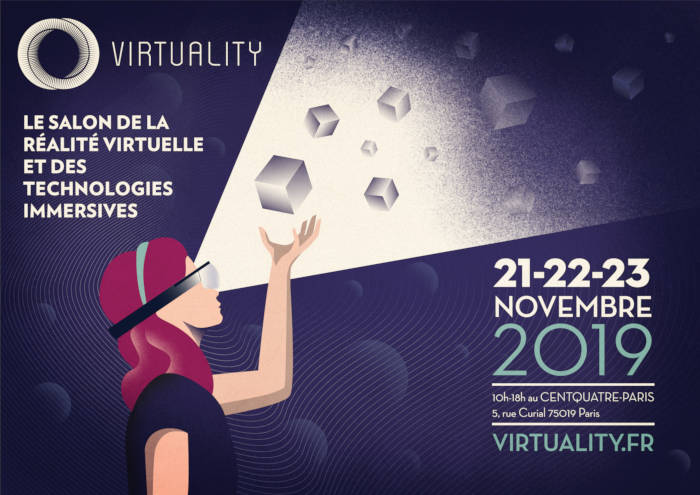 Affiche Salon Virtuality