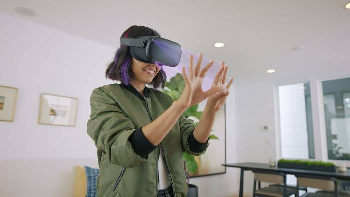 Disponibilité du hand tracking sur Oculus Quest