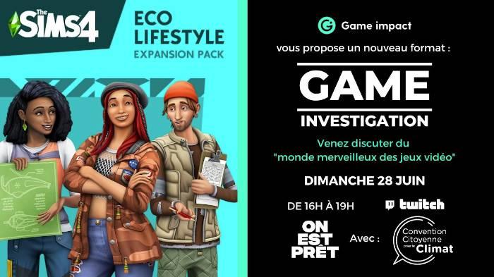 Conférence Game Investigation : jeux vidéo et écologie