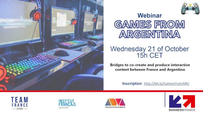 Webinaire - Games from Argentina