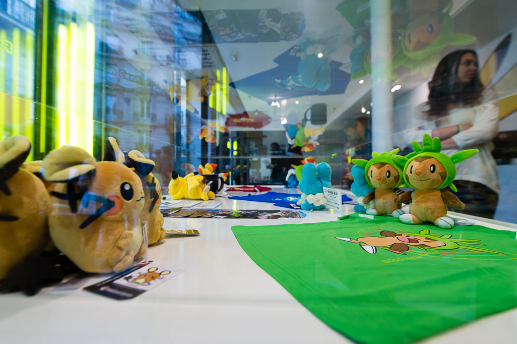 Les Photos De L Inauguration Du Pokemon Center De Paris Photo 29 Sur 101