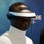 Soir�e de lancement du Visiocasque 3D Sony HMZ T1 - Cinema 39, Paris - Novembre 2011