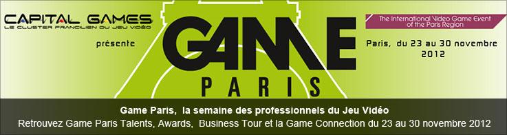 Game Paris,  la semaine des professionnels du Jeu Vidéo