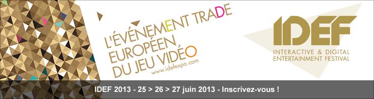 IDEF 2013 - 25 > 26 > 27 juin 2013 - Inscrivez-vous !