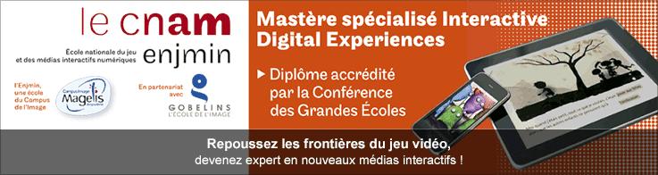 Mastère spécialisé Interactive Digital Experiences