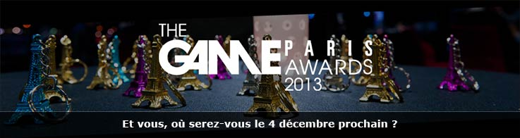 The Game Paris Awards 2013