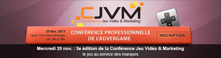 CJVM - Conférence Jeu Vidéo & Marketing