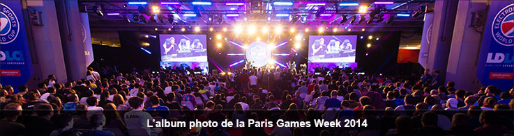 L'album photo de la Paris Games Week 2014