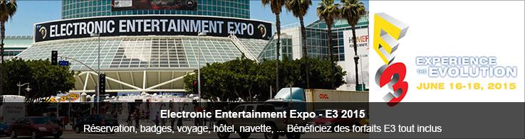Forfaits voyage E3 2015