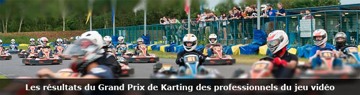 Résultats du Grand Prix de Karting des professionnels du jeu vidéo