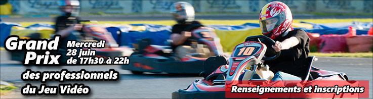 Grand prix de Karting des professionnels du jeu video