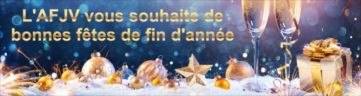 L'AFJV vous souhaite de bonnes fêtes de fin d'année